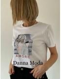 CAMISETA/AMORE/LUX